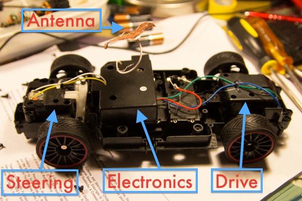 RC Car Modifications Andrew Dai BunsenMcDubbs - Rc car relay switch
